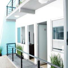 Отель Hostal Be Condesa Кровать в мужском общем номере фото 3
