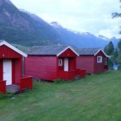 Отель Nesset Fjordcamping Номер с общей ванной комнатой с различными типами кроватей (общая ванная комната) фото 12