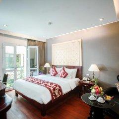 Medallion Hanoi Hotel 4* Номер Делюкс разные типы кроватей фото 3
