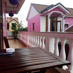Отель Pink House Homestay балкон