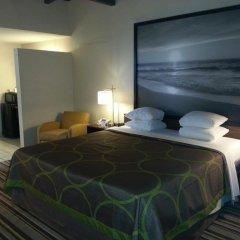 Отель Super 8 by Wyndham Los Angeles-Culver City Area 2* Стандартный номер с различными типами кроватей фото 2