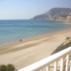 Отель Apartamentos Los Pinos пляж