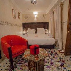 Отель Dar Ikalimo Marrakech 3* Улучшенный номер с различными типами кроватей фото 18