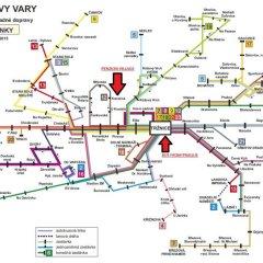 Отель Penzion Village Чехия, Карловы Вары - отзывы, цены и фото номеров - забронировать отель Penzion Village онлайн городской автобус