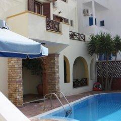 Отель Pension Stella Греция, Остров Санторини - 1 отзыв об отеле, цены и фото номеров - забронировать отель Pension Stella онлайн бассейн фото 2
