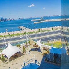 Отель Golden Coast Азербайджан, Баку - отзывы, цены и фото номеров - забронировать отель Golden Coast онлайн пляж фото 2