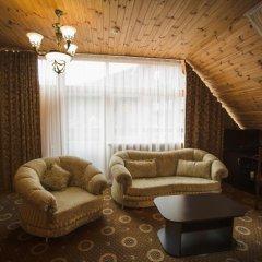 Гостиница Снежный барс Домбай 3* Студия Делюкс с различными типами кроватей фото 11