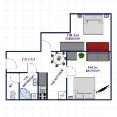 Апартаменты Ruzova Apartment By Ruterra интерьер отеля