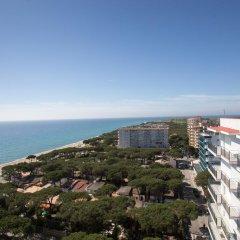 Отель Blanes Condal Испания, Бланес - отзывы, цены и фото номеров - забронировать отель Blanes Condal онлайн пляж фото 2