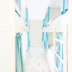 Волхонка хостел Кровать в общем номере с двухъярусными кроватями фото 15