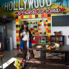 Гостиница Голливуд Хостел в Москве 13 отзывов об отеле, цены и фото номеров - забронировать гостиницу Голливуд Хостел онлайн Москва питание фото 3