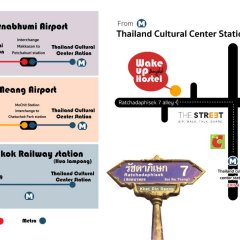 Wake Up Hostel Bangkok Бангкок городской автобус