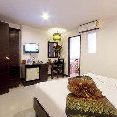 Отель Silver Resortel Номер Эконом с двуспальной кроватью фото 17