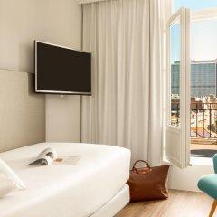 Отель NH Collection Brussels Centre 4* Улучшенный номер с двуспальной кроватью фото 2