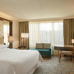 Sheraton Warsaw Hotel 5* Стандартный семейный номер с двуспальной кроватью фото 6