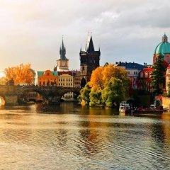 Hotel Askania Прага приотельная территория фото 2