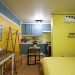 Отель Han River Guesthouse 2* Студия с различными типами кроватей фото 29