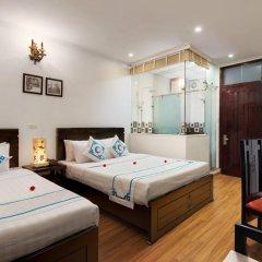 Hanoi Focus Boutique Hotel 3* Представительский номер разные типы кроватей фото 12