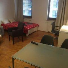 Отель Anton Panorama Apartments Польша, Варшава - отзывы, цены и фото номеров - забронировать отель Anton Panorama Apartments онлайн комната для гостей фото 2