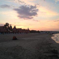 Hostel Gdańsk Sun and Sea пляж