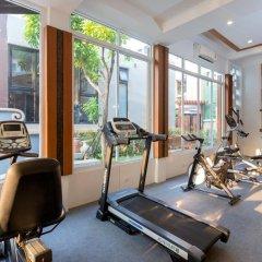 Bhukitta Hotel & Spa фитнесс-зал фото 4
