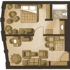 Апартаменты Marriott Executive Apartments Millennium Court Апартаменты с различными типами кроватей фото 4