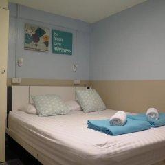 I-Sleep Silom Hostel Стандартный номер с двуспальной кроватью (общая ванная комната) фото 4