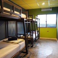 B&B House & Hostel Кровать в мужском общем номере с двухъярусной кроватью фото 7