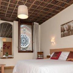 Hotel Casa Del Pellegrino 3* Номер Делюкс фото 2