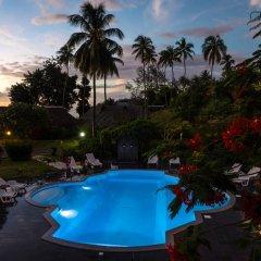 Отель Hibiscus Французская Полинезия, Муреа - отзывы, цены и фото номеров - забронировать отель Hibiscus онлайн бассейн фото 2