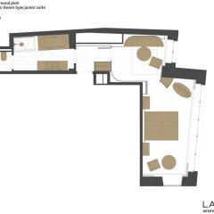 Отель Lamée 5* Улучшенный номер с различными типами кроватей фото 2