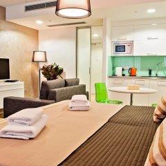 Отель Wenceslas Square Terraces Апартаменты Премиум с различными типами кроватей фото 3