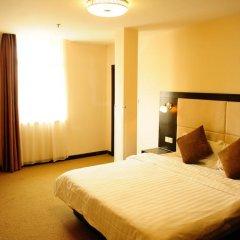 Joyfulstar Hotel Pudong Airport Chenyang 2* Номер Делюкс с различными типами кроватей фото 8
