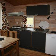 Отель Odda Camping Коттедж с различными типами кроватей фото 5