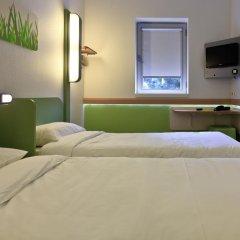 Отель ibis budget Porto Gaia Стандартный номер разные типы кроватей фото 2