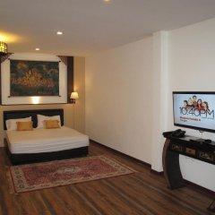 Отель QG Resort 3* Семейный номер Делюкс с двуспальной кроватью фото 12