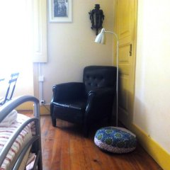 Refuge in Santa Marta Hostel Стандартный номер с двуспальной кроватью (общая ванная комната) фото 2