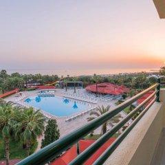 Miramare Beach Hotel Турция, Сиде - 1 отзыв об отеле, цены и фото номеров - забронировать отель Miramare Beach Hotel онлайн балкон