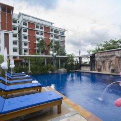 Santiphap Hotel & Villa 3* Стандартный номер с различными типами кроватей фото 11