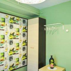 Хостел Панда Номер Эконом с двуспальной кроватью (общая ванная комната) фото 8
