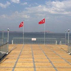 Отель Grand Geyikli Resort Otel Orucoglu пляж