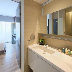 Отель Pan Pacific Serviced Suites Beach Road, Singapore ванная фото 2