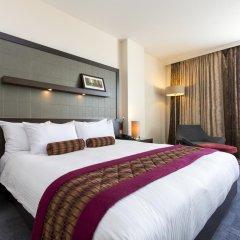 Отель Hilton London Canary Wharf 4* Представительский номер с различными типами кроватей фото 3