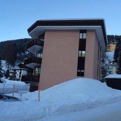 Отель Alberti 5 Швейцария, Давос - отзывы, цены и фото номеров - забронировать отель Alberti 5 онлайн балкон