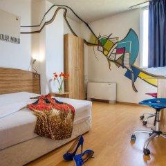 Art Hotel Simona 3* Стандартный номер с разными типами кроватей фото 8