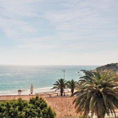 Отель Apartamentos Borda D´Agua пляж