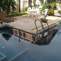 Апартаменты Chaba Garden Apartment бассейн