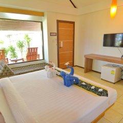 Отель Golden Bay Cottage 3* Бунгало Делюкс с различными типами кроватей фото 35