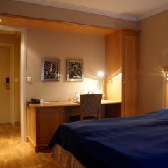 Отель Hotell Refsnes Gods 4* Стандартный номер с двуспальной кроватью фото 3