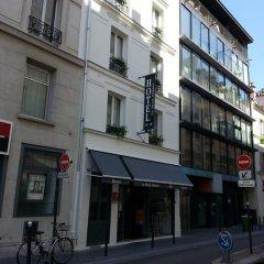 Отель Hôtel Saint-Hubert вид на фасад фото 2